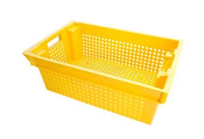 Ящик овощной желтый
